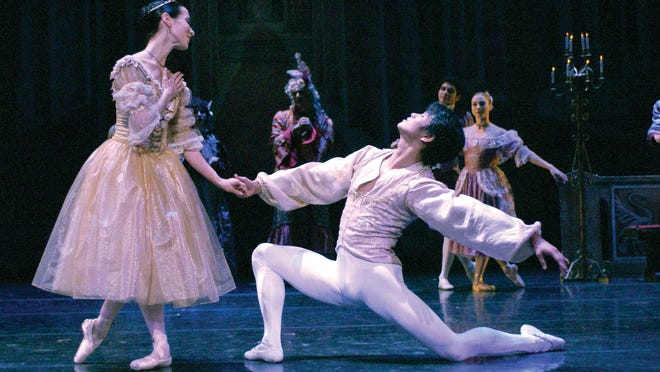 """The Eugene Ballet Company will present """"Cinderella"""" at 7:30 p.m. Friday, Oct. 10, at the Historic Elsinore Theatre, 170 High St. SE."""