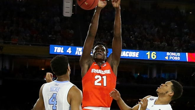 Syracuse is a different team this season when senior forward Tyler Roberson is active on both ends of the floor and in particular on the boards.