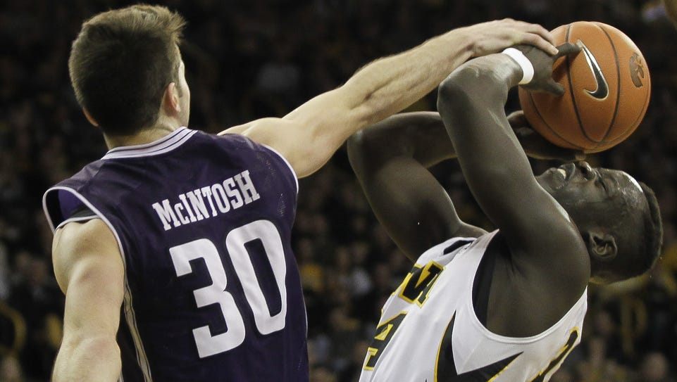 Iowa shooting guard Peter Jok has gotten used to being