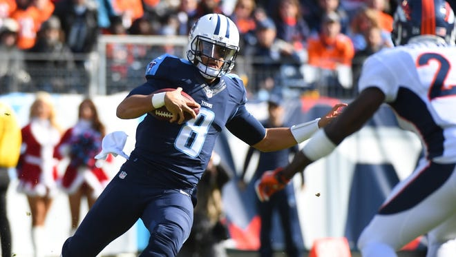 Marcus Mariota keeps the Tennessee Titans in the playoff hunt with a victory over the Denver Broncos.