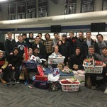 Mustangs icemen adopt a family for holidays