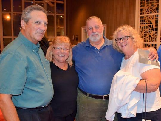 Charles & Carole Costello, Walter & Jeanne Pratt