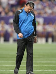 Lions coach Jim Schwartz took the franchise to the
