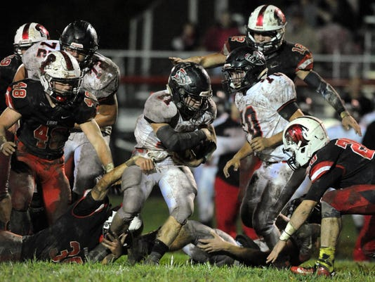 Fairfield Union football Liberty Union football
