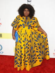 Actress Gabourey Sidibe attends the 48th NAACP Image