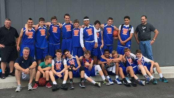 The Carolina Assault eighth and ninth-grade boys basketball teams won championships at last weekend's Jet Jam tournament hosted by the Xcel Sportsplex.