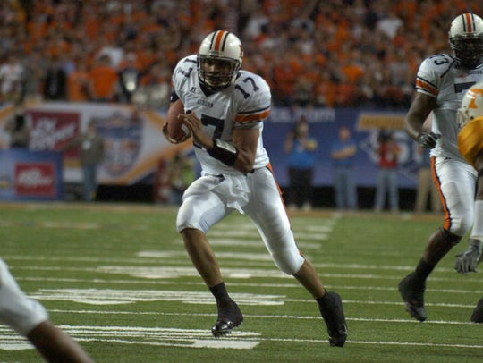 Jason Campbell ran for 57 yards in the 2004 SEC title