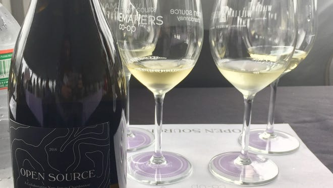 Four varieties of Open Source Chardonnay have been made by four New Jersey Wineries.