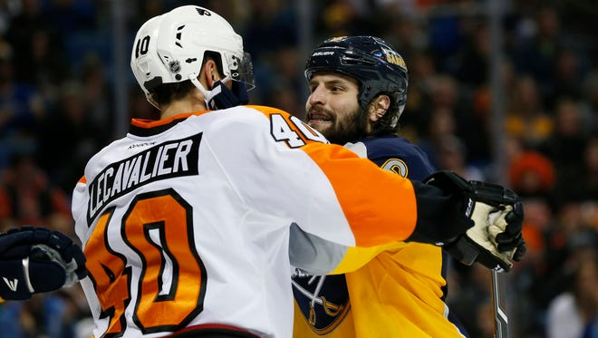 The Flyers and Sabres are two of the worst teams in the Eastern Conference recently.
