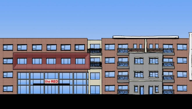 "Circle Development wants to launch a $25 million project this summer called ""The Red,"" which will feature 250 apartments and three restaurants in the Madisonville neighborhood."