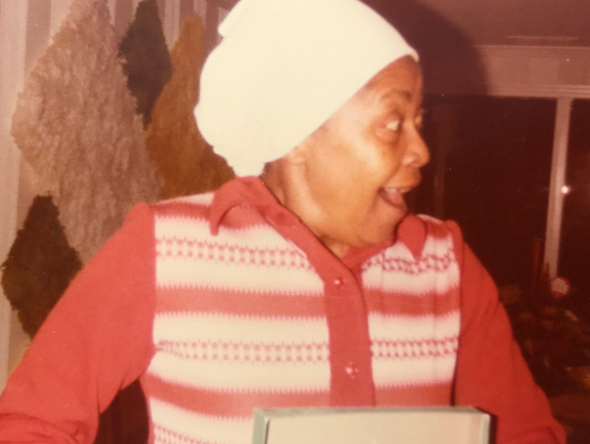 A 1970s-era photograph of the late Idella James, who
