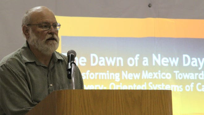 Otero County Community Health Council hosted the Recovery & Resiliency Program at the Sgt. Willie Estrada Memorial Civic Center, 800 E. First St., Saturday. Dr. Bob Phillips talked about addictive behaviors and the recovery movement at the event.