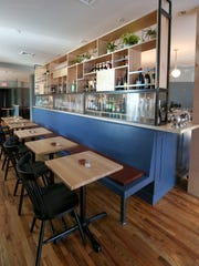 The interior of Juniper in Hastings-on-Hudson.