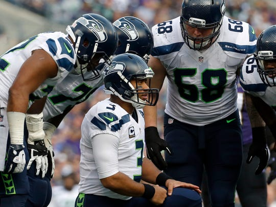 6. Seattle Seahawks (8-5, last week: 6): We kept waiting and waiting and waiting for them to turn it on. With four straight wins, they've turned it on.