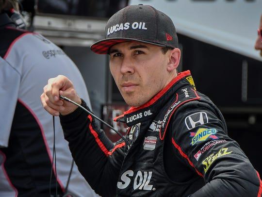 Schmidt Peterson Motorsports IndyCar driver Robert