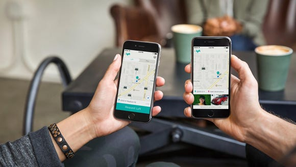 App-based ride-sharing services like Lyft and Uber