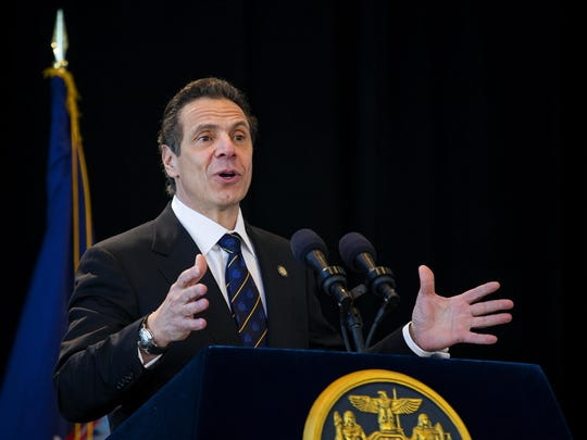 Gov. Andrew Cuomo said if third parties can't meet the new proposed thresholds to get on the ballot, maybe they shouldn't even exist.