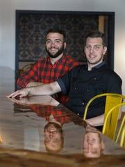 Owner Nick Garofoli and executive chef Chuck Previte