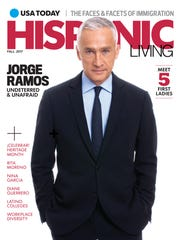 Univision anchor Jorge Ramos graces the cover of USA