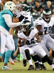Eagles running back Donnel Pumphrey was seen as Darren Sproles' successor, but his rookie season was a disaster.