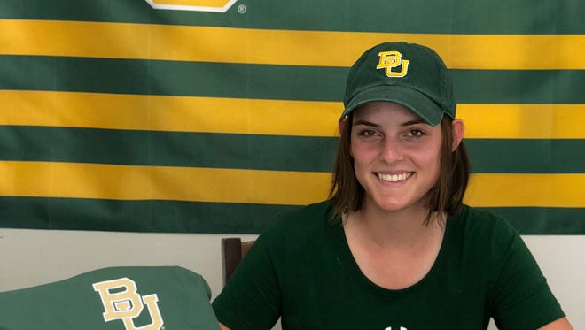 Naples' Emma Bradley signed with Baylor University on Saturday, July 21, 2018. Bradley de-committed from Ole Miss back in February.