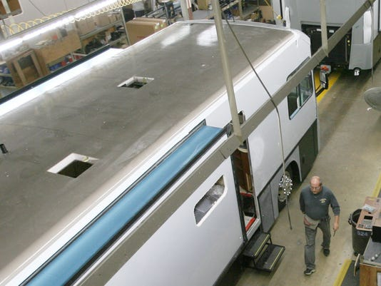 RV industry sees strong sales growth