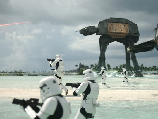 The Empire strikes back against the Rebels on the shores