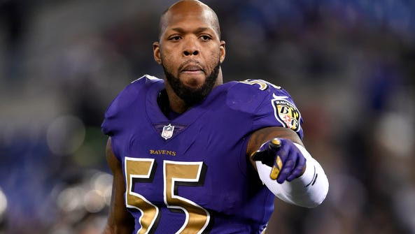 Outside linebacker Terrell Suggs is one of the few