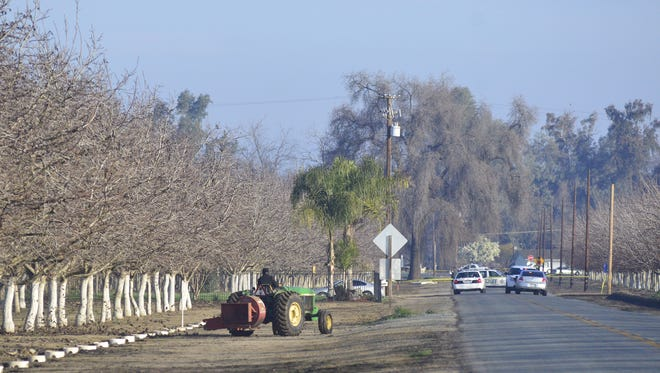 Tulare County Sheriff's deputies are investigating a death at Road 152 and Highway 216, just southwest of Cutler Park. Deputies arrived around 7:30 a.m. and found a man dead.