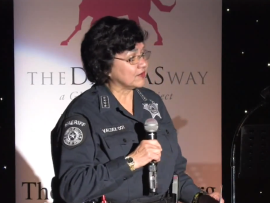Dallas County Sheriff Lupe Valdez