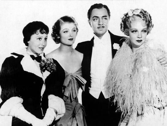 "The 1936 Academy Award-winning movie ""The Great Ziegfeld"""