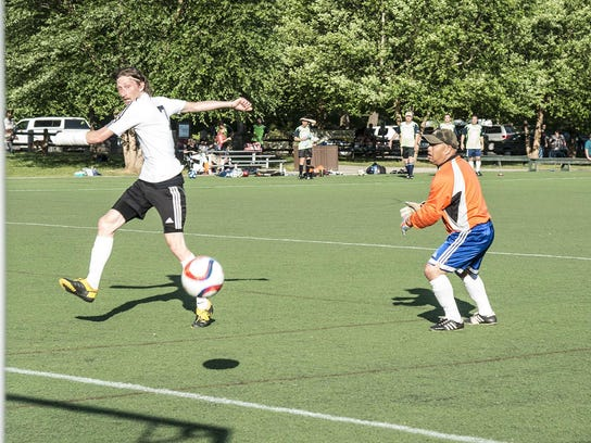 Aaron Wolf scores for Watershed football11