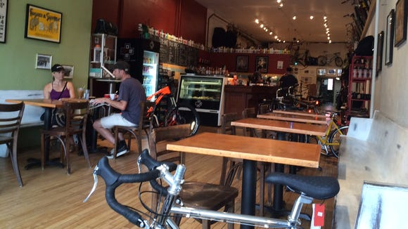 Quaffing coffee and talking bikes at the One on One