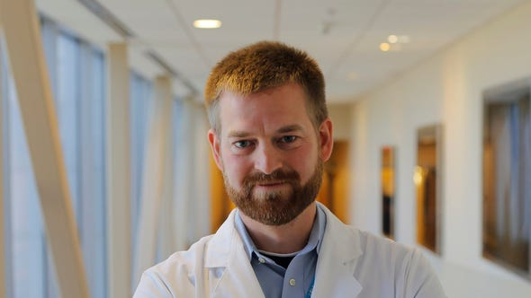 In this Monday, Dec. 19, 2016 photo, Dr. Kent Brantly,