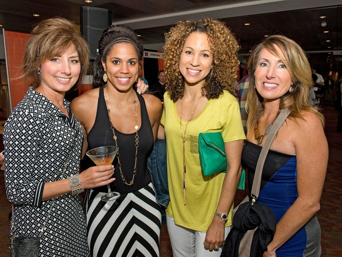 Lisa Wersel of Mason, Desirae and Michelle Ball of Evendale and Susan Hayes of Loveland. The Cincinnati Bengals hosted their annual Taste of the NFL event, a dinner-by-the-bite benefit for the Freestore Foodbank featuring chefs from the area's top restaurants.