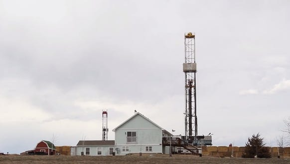"""This movie still from one of the six shorts in """"Fracking"""