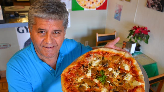 Basil Nejado, owner of Basil Pizza and Pasta on Merritt Island, bills his restaurant as a small place with the big Italian taste.