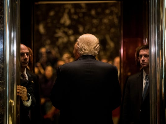 Donald Trump Holds Meetings At Trump Tower