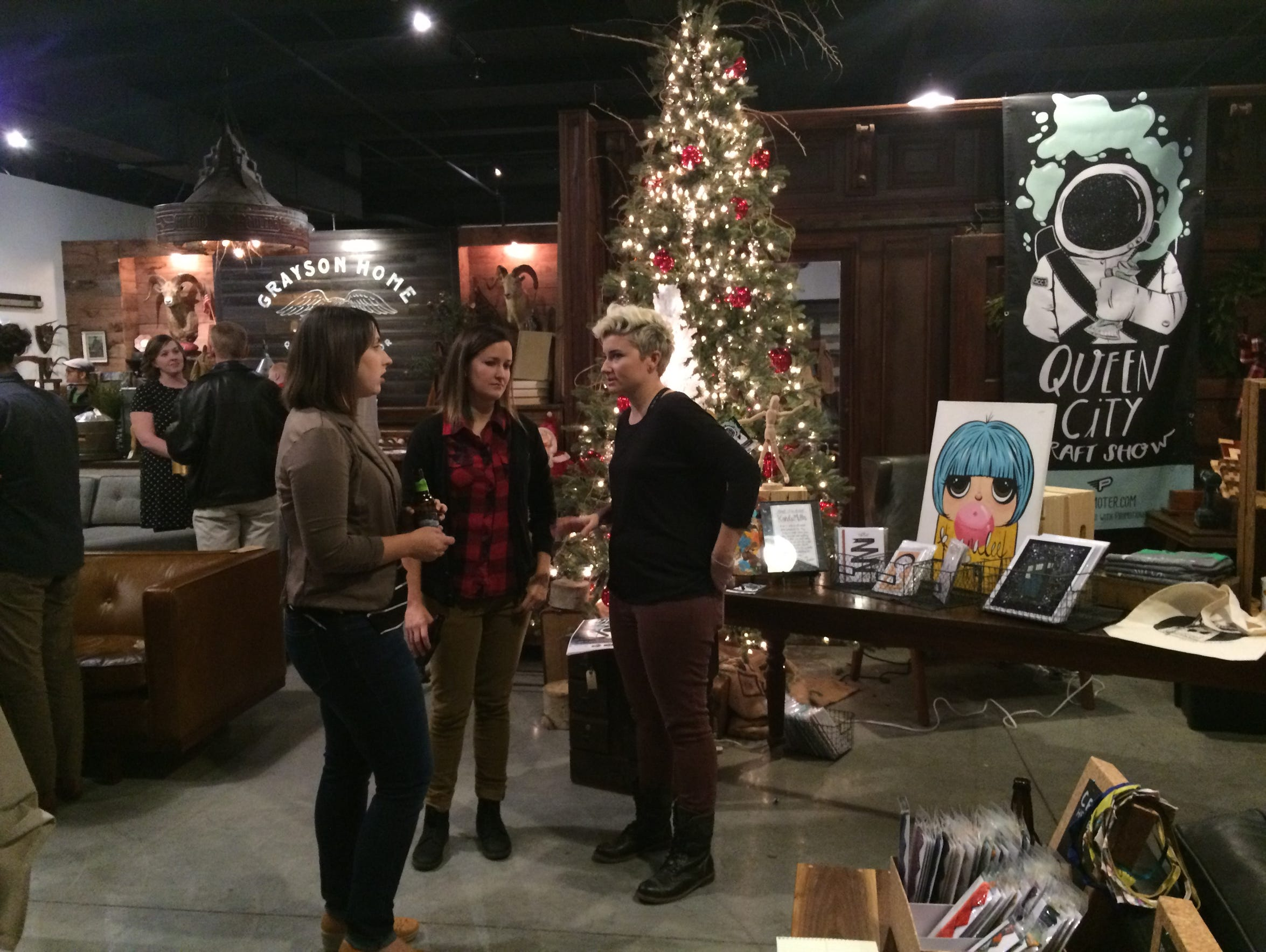 Queen City Craft Show is an Esty-like pop-up shop happening