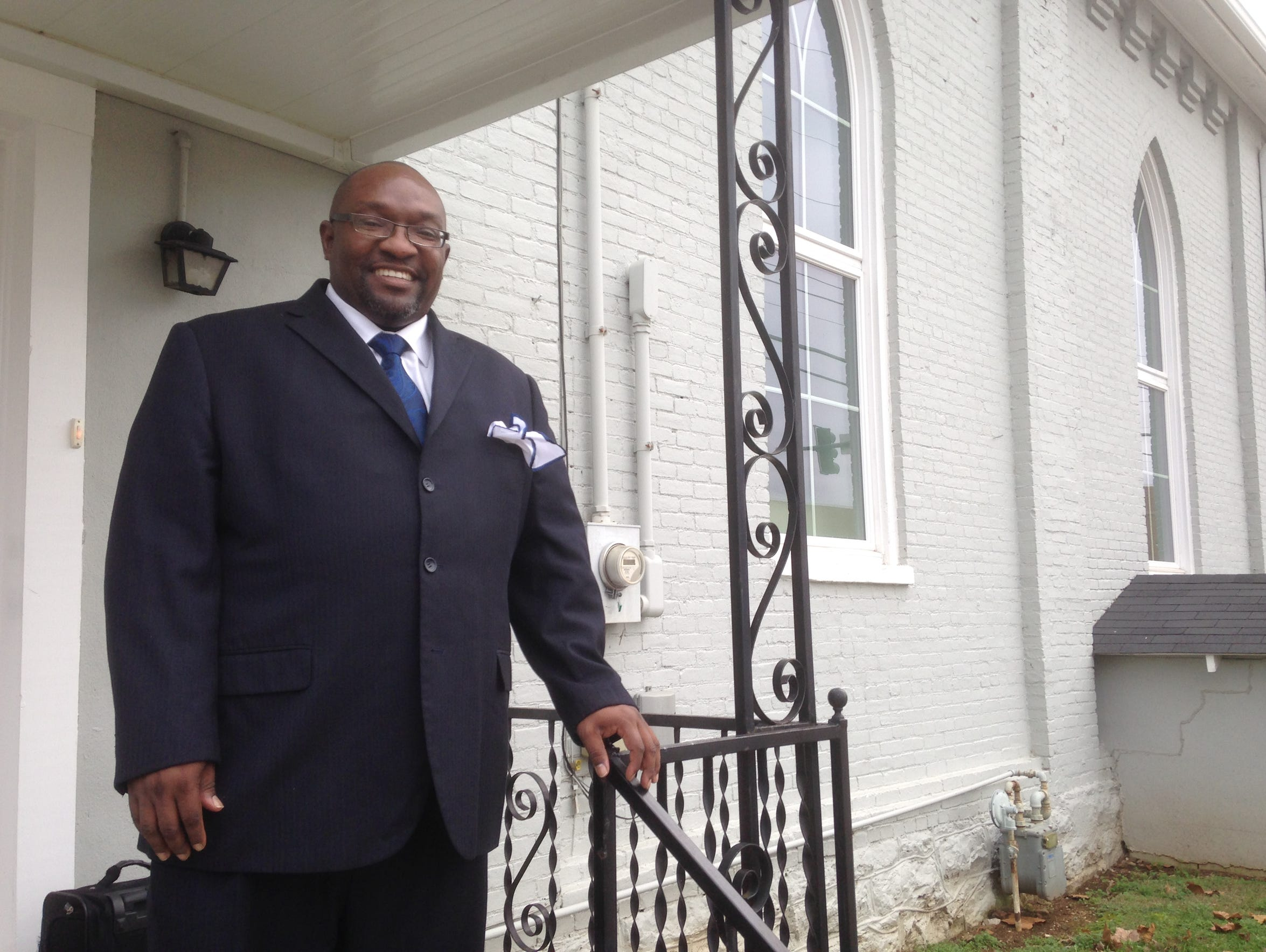 Jerry Marable, pastor of Mt. Zion Missionary Baptist