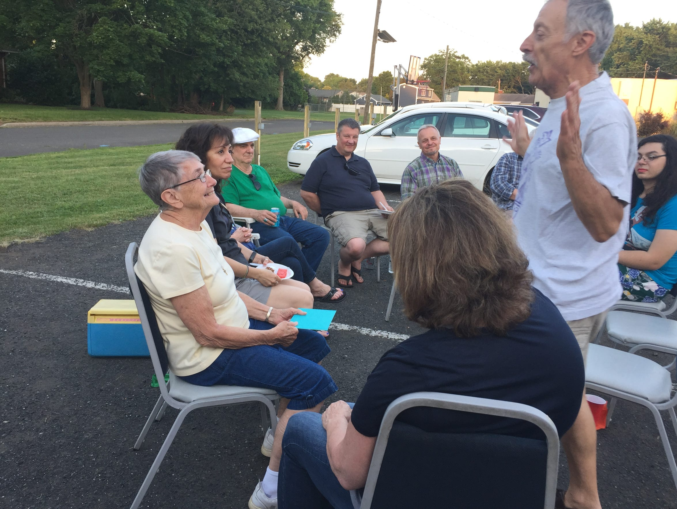 "On July 14, ""In God's Image"" members joined together"