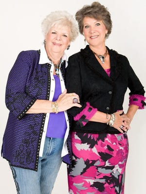 Sisters Janice Venama (left) and Jane Strobel are retiring after 36 years at Lady's Image in Wilmington.