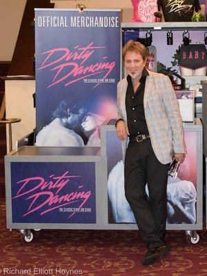 """Oscar-winning composer Franke Previte is pictured Nov. 4, 2016, in the lobby of New Brunswick's State Theatre during a stage production of """"Dirty Dancing."""" The original 1987 film on which the production is based won Previte the Best Song Oscar for """"(I've Had) the Time of My Life."""" This weekend, Previte will perform his award-winning song and many more in """"Broadway and Beyond"""" at Union County Performing Arts Center in Rahway."""