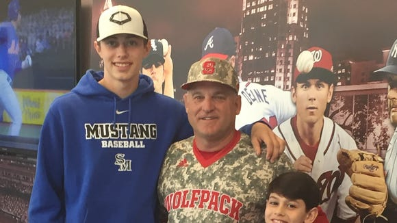 Smoky Mountain junior Cole Hooper has committed to play college baseball for N.C. State.