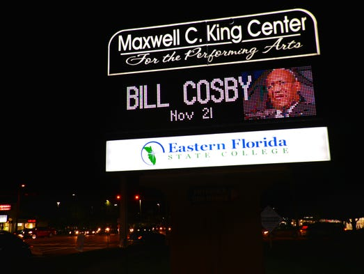 Bill Cosby performs at the King Center on Friday, Nov.