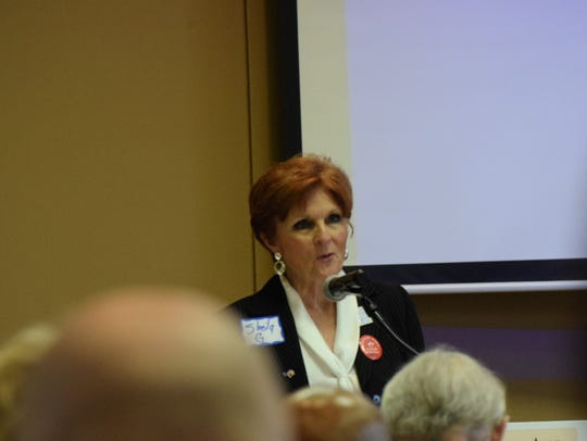 Sheila Gilbert, director of the Alabama Democratic