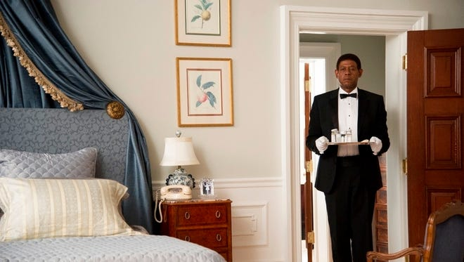 'The Butler,' starring Forest Whitaker, was No. 1 for the second straight weekend at the box office.