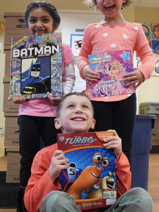 Hillsborough: Preschool collects new, gently uised books for children in need PHOTO CAPTION