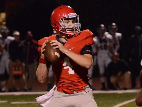 Brentwood Academy quarterback Jeremiah Oatsvall