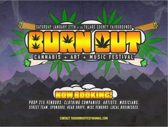 Promo for Burn Out festival